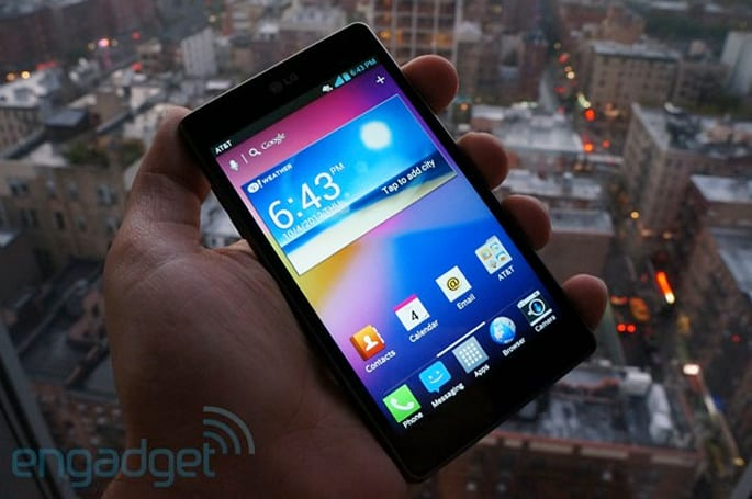 LG Optimus G for AT&T will be available November 2 for $200, pre-orders begin tomorrow