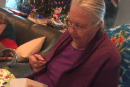Adorable family convinces Grandma a chocolate phone is an iPhone