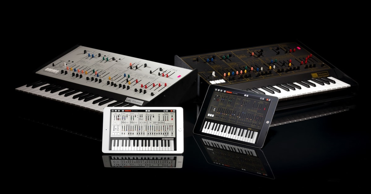 Korg brings the iconic ARP Odyssey synth to iOS