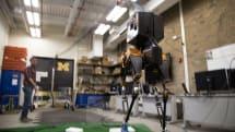 U of M's Marlo robot uses algorithms to conquer uneven terrain