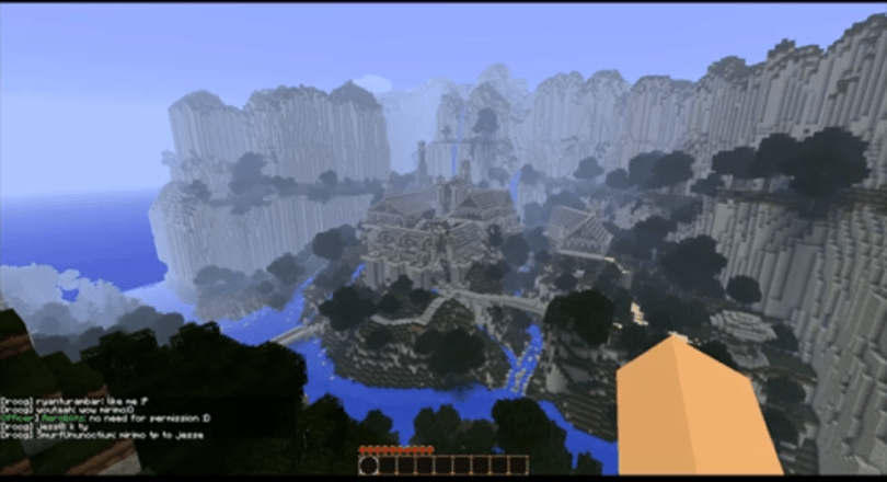 Mind-blowing Middle-earth manufactured in Minecraft