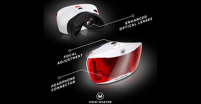 Mattel will launch a redesigned VR View-Master this fall