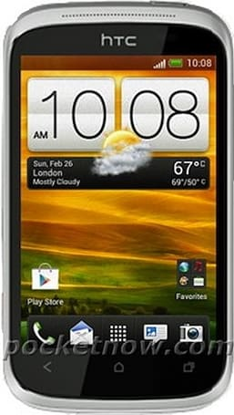 HTC Golf allegedly appears in press shot sporting ICS and Sense 4