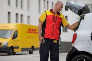 DHL testet Paketzustellung in den Kofferraum
