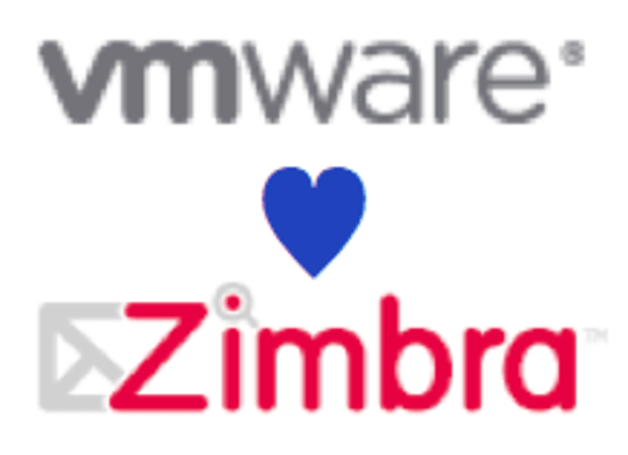Zimbra and VMWare get married, cloud-shaped kids expected