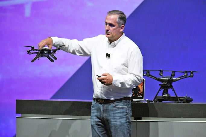 Intel intros a ready-to-fly drone for software developers