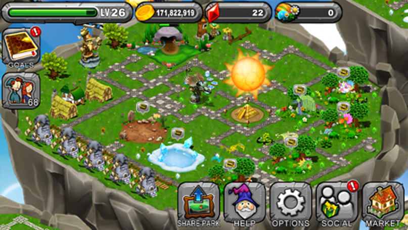 Daily App: DragonVale lets you breed Dragons and build elaborate parks
