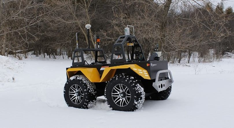 Grizzly robot EV shrugs off difficult terrain, laughs at heavy loads