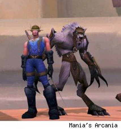 "Hunters discover ""new"" Worgen pet"