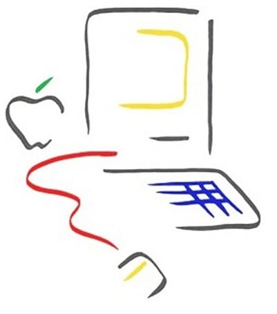 The original Mac icon was inspired by Matisse, not Pablo Picasso