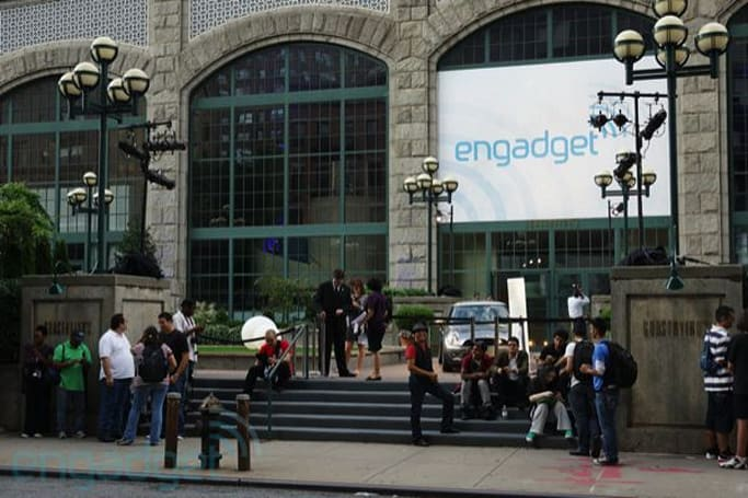 Live from the Engadget reader meetup in NYC