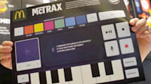 Embrace your inner DJ with McDonald's McTrax placemat