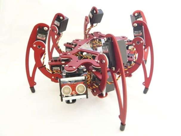 MSR-H101 Hexapod kit lets you build your own nightmares
