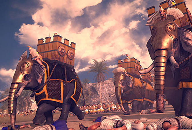 Total War: Rome 2 DLC adds scorpion bombs, angry dogs
