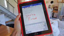 Microsoft Office iPhone users can doodle with their fingers