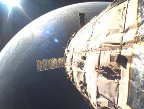 Experimental space hotel hurtled into orbit