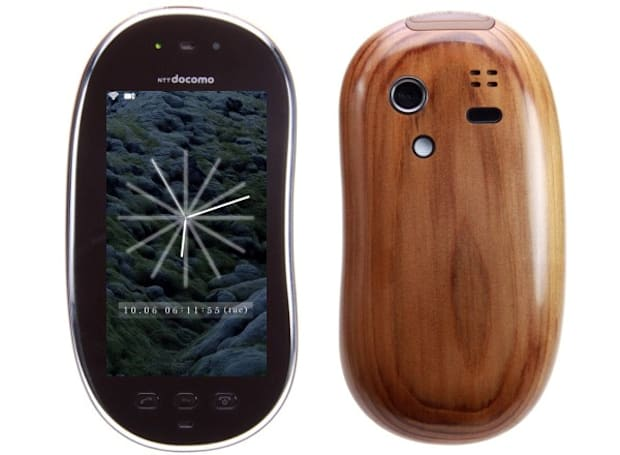 Sharp Touch Wood concept turns real with limited run of 15,000 handsets on NTT DoCoMo