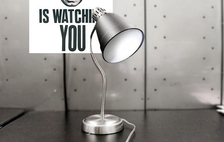 Big Brother is live-tweeting you: artists turn a lightbulb into a surveillance device