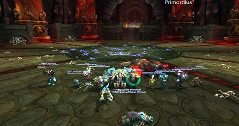 Deaf/Ventless raiding guild slices silently through heroic ToT