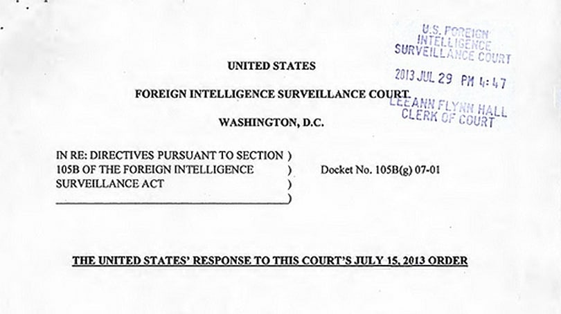 US government will declassify Yahoo documents and court decision by September