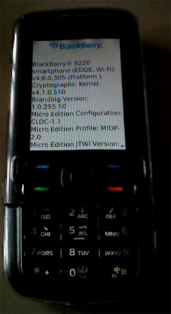 BlackBerry OS seemingly ported to Nokia 5700 for some strange reason