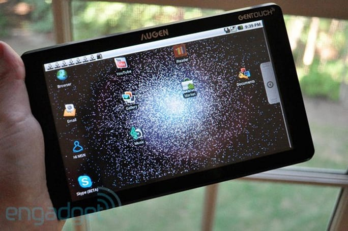 Augen mysteriously dies, dirt-cheap Android tablets can't keep it afloat