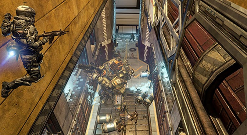 Take an Expedition into Titanfall's War Games map