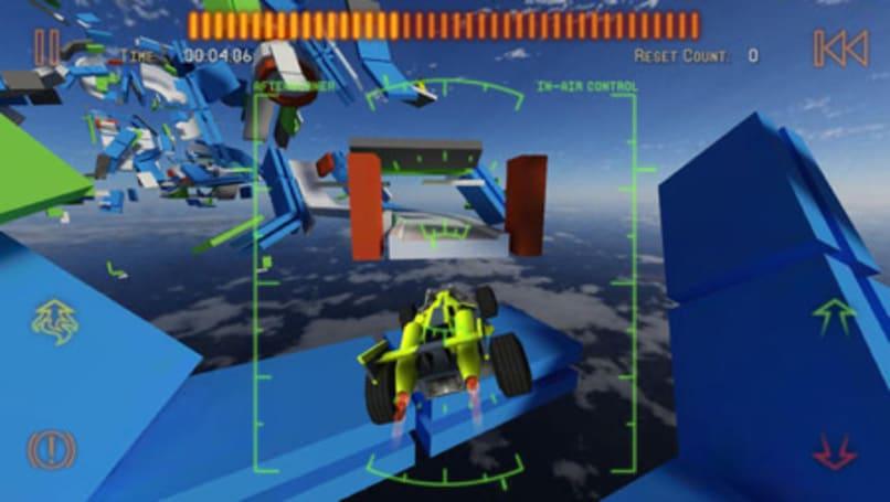 Jet Car Stunts 2 isn't flashy, but it sure is fun