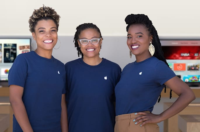 Apple's diversity numbers haven't moved much in a year