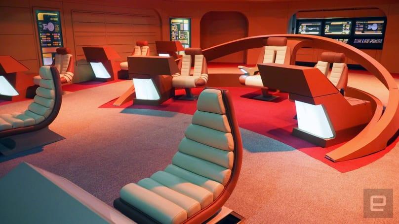 Become a Starfleet cadet at the Intrepid's new Star Trek exhibit