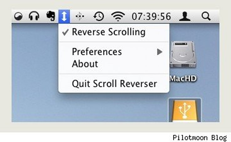 Scroll Reverser brings Lion, iOS reverse scrolling to Snow Leopard