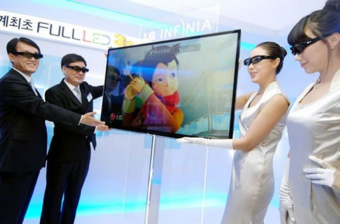 LG unveils first Full LED 3D HDTV -- the 22.3mm-thin LX9500