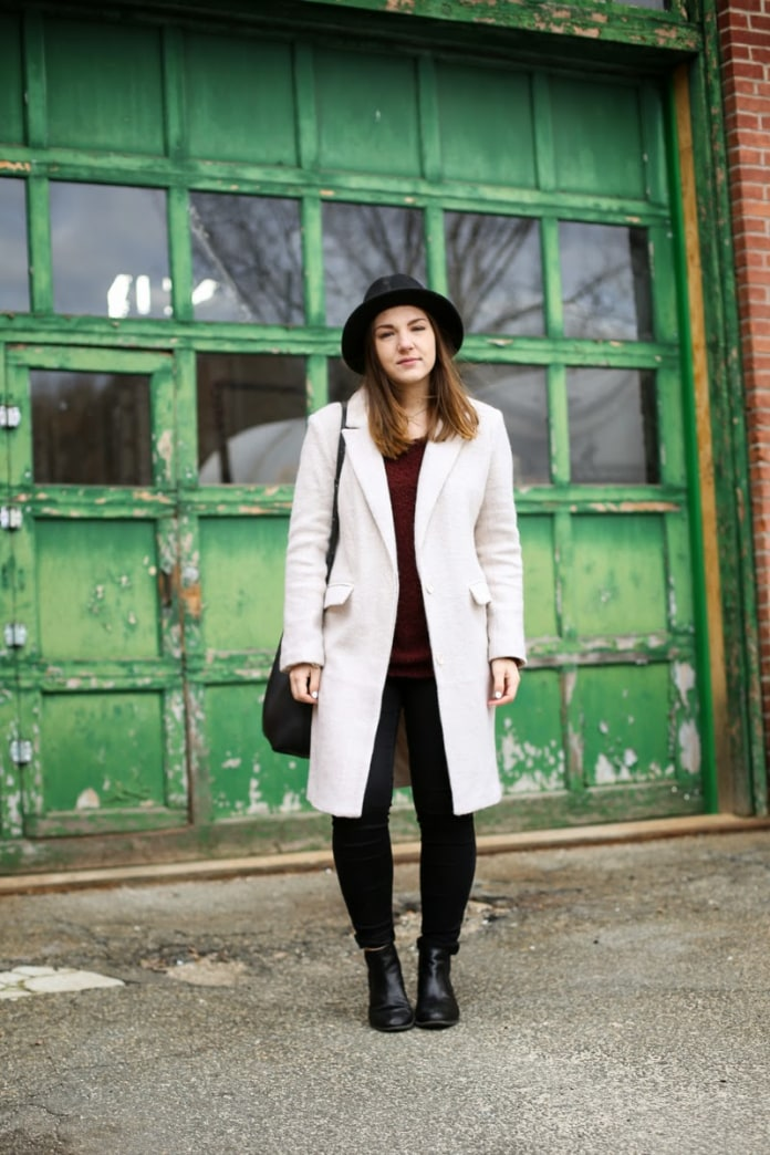 Street style tip of the day: Fuzzy coat