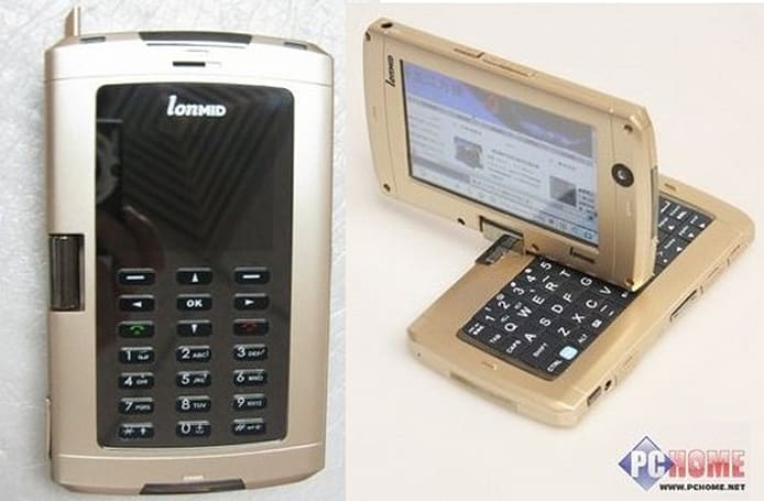 LonMID M100 is a giant smartphone or tiny netbook, you choose