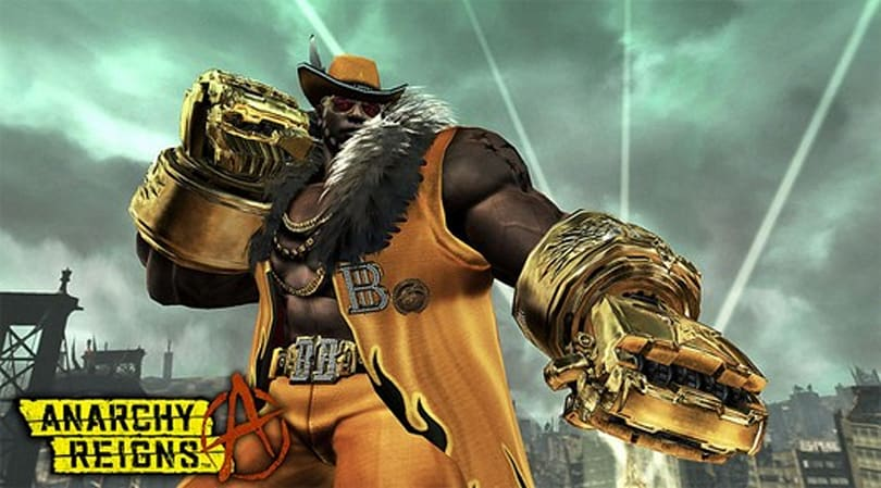 Anarchy Reigns adds another MadWorld character to the roster: Blacker Baron
