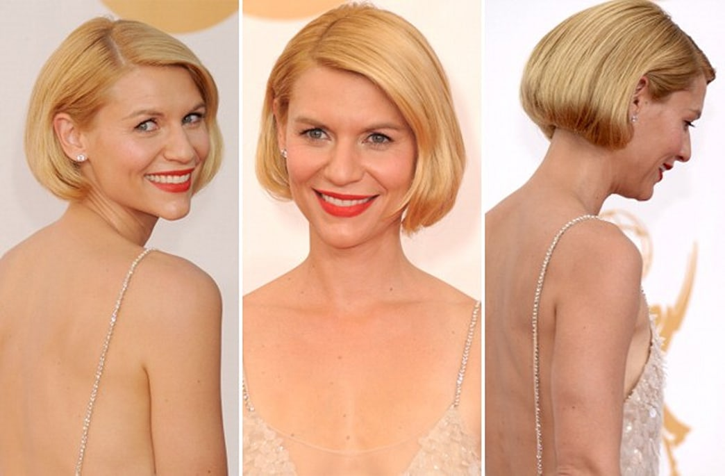 A step by step guide to getting Claire Danes' adorable (faux!) Emmys bob