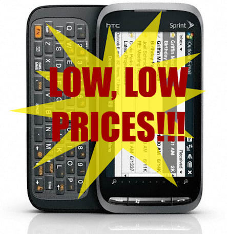 Sprint readying big price drop on Touch Pro2?