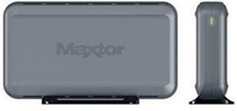Some Maxtor Personal Storage 3200s shipped with virus