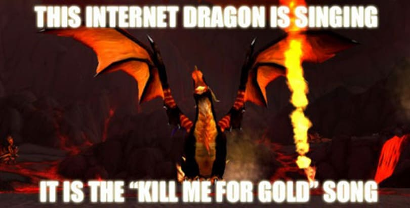 I write about dragons on the internet, Dad