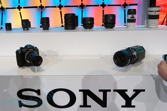 Visualized: Sony teases prototype 4K cameras and lenses at NAB