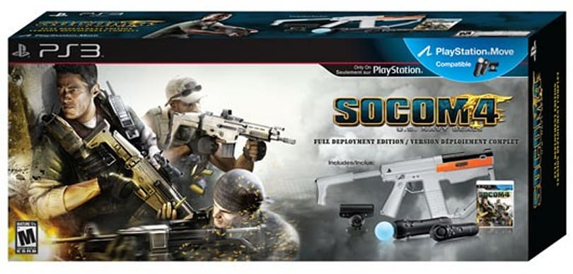 SOCOM 4 bundled with Move in $150 'Full Deployment Edition'