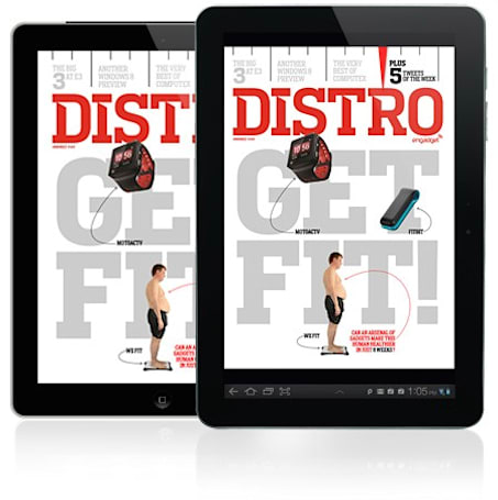 Distro Issue 44 is here and it's time to get fit!