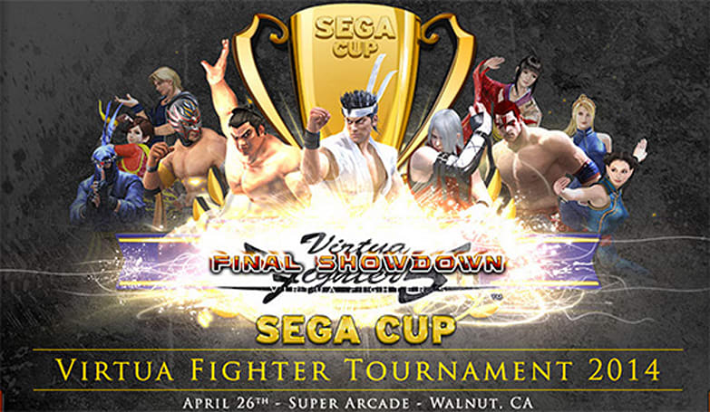 Registration for Sega Cup Virtua Fighter Tournament 2014 now open
