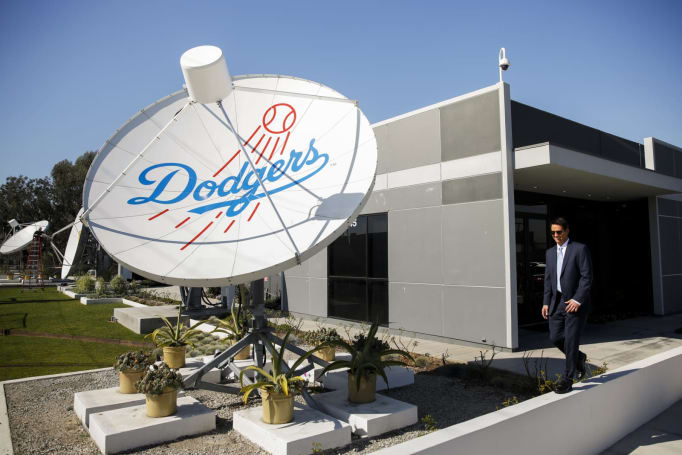 DOJ sues DirecTV for conspiring against LA Dodgers (updated)
