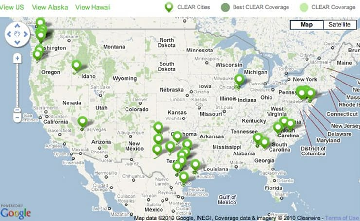 Clearwire WiMAX to cover 120 million prospective HTC EVO 4G owners by end of year
