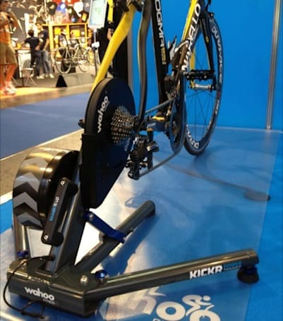 Wahoo KICKR Power Trainer lets iPhone cyclists feel the simulated burn (video)