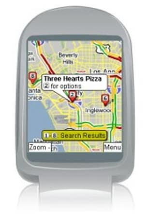 Free GPS-enabled mobile nav app from amAze