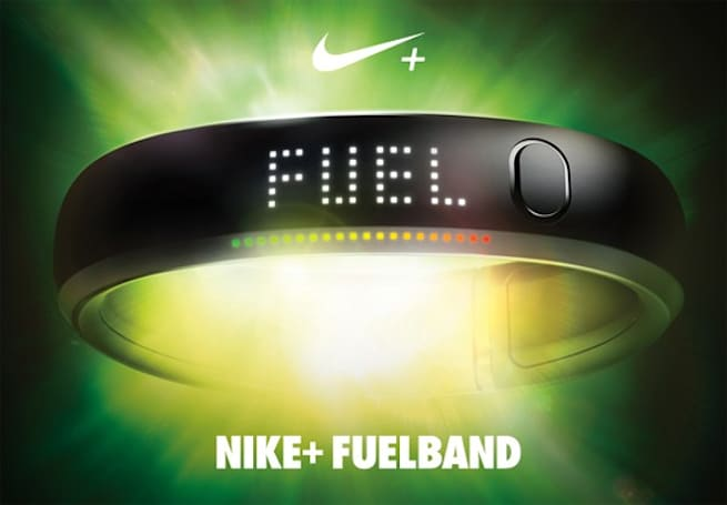 The Nike+ FuelBand measures activity in NikeFuel, ready for your NikeLife