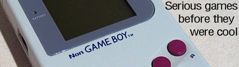 Non-Game Boy: Serious games before they were cool