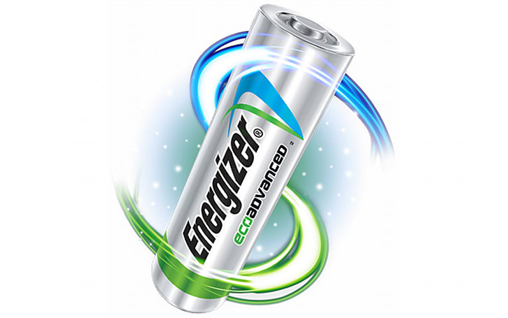 Energizer makes high-performance batteries from your recycled cells
